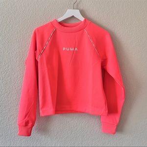Puma XTG Crew Neck Sweatshirt Bright Pink XS
